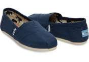 Toms Classic Canvas, Man, Navy